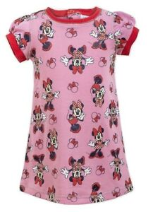 Minnie Mouse Baby Girls Pink Dress - Age - 6 Months