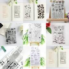 Transparente Klare Stempel Scrapbooking Schreibwaren Foto Album Dekoration DIY