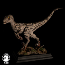 W-Dragon 1/8 Deinonychus Statue Raptor Dinosaur Figure Collector Decor Toys