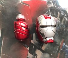 Hot Toys mms145 Iron Man 2 MARK V Figure 1/6 ironman head