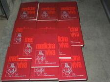 MEDICINA VIVA 12 VOLUMI ENCICLOPEDIA DI MEDICINA FRATELLI FABBRI EDITORE 1976