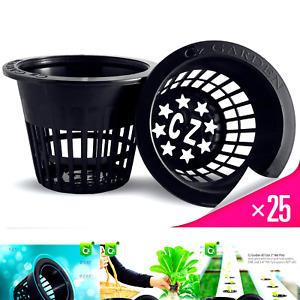 3 inch Net Pots Super Heavy Duty Cups Wide Lip Design - Orchids • Aquaponics•...