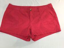 women's Arizona shorts Juniors Plus Size 18 hot pink