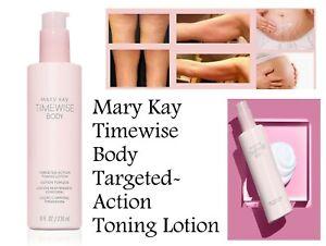 MARY KAY TIMEWISE BODY TARGETED~ACTION TONING LOTION NIB EXP 08/2024