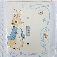New Beatrix Potter Wooden Light Switch Plate Peter Rabbit