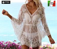 Cafano Mini Vestito Copricostume Mare Donna Woman Kaftan Dress COV0115 SD