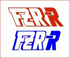 1 PAIR OF YAMAHA FZR R STICKERS.......... RACING STICKERS/DECALS/GRAPHICS