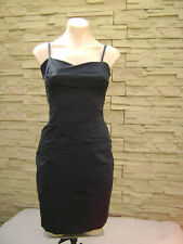 Designer KOOKAI Womens Black Stretch Party Cocktail Dress ~ Size 36 (8 AU) ~ EC