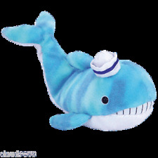 """TY BEANIE BABIES   """"CAPTAIN""""  THE WHALE MINT WITH MINT TAG"""