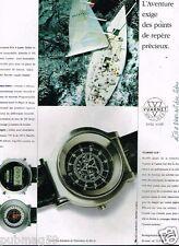 Publicité advertising 1991 Les Montres Vuarnet cup