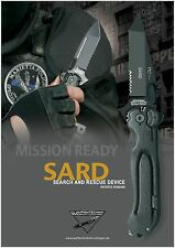 German Solingen SARD (Search And Rescue Device)  Knife