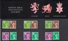 GB 1996 THREE  REGIONALS DEFINITIVE MACHIN 20p - 63p PACK No. 36 MINT STAMP SET