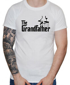 """Dirty Fingers """"The Grandfather"""" Men's T-Shirt Funny The Godfather style Gift"""