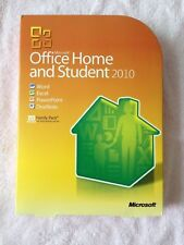 Microsoft Office 2010 Home and Student For 3PCs 79G-02144 Retail Box New!