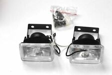 Clear Universal Spot Fog Lights Lamps Set Bulbs H3 12V 55W Car Van Bus - HY032