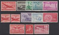 FRANCOBOLLI 1946/49 USA STATI UNITI POSTA AEREA MNH Z/6268