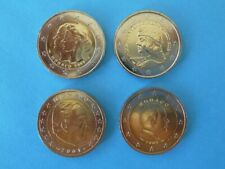 MONACO LOT 4 x 2€ : 2011 commemo + 2012 commemo + 2001 + 2009