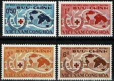 VIETNAM du SUD 1963 CROIX-ROUGE  YT n° 222 à 225 neufs ★★ Luxe /MNH (B)