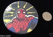 "Spiderman Spidey Senses Pin Metal Pinback Button Vintage Original 2"" Comic Retro"
