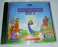 Scholastic Read & Learn Bible Inspiring Games for Kids Win Mac Dvd-Rom Software