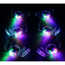 12/pk Flashing Mouth LED Mouthpieces Glow Teeth Light Party Halloween Gift