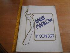 1996 Barry Manilow concert tour program