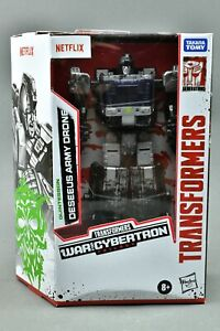 Transformers Netflix Deseeus Army Drone War for Cybertron WFC