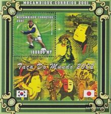 Mosambik block76 unmounted mint / never hinged 2001 Football-WM 2002