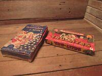 Vintage EMPTY Christmas Lights Boxes Santa Claus