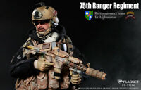 FLAGSET 75th anger Regiment Reconnaissance Team in Afghanistan Full Set 1/6 Doll