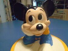 Mickey Mouse Walt Disney Cookie Jar Drummer Mickey Marked @Walt Disney Prod