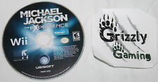 USED Michael Jackson The Experience Nintendo Wii (NTSC) DISC ONLY!!