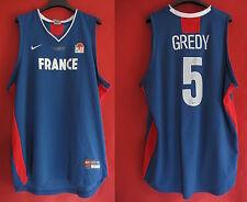 Maillot Basket Equipe de France Porté n° 5 Gredy ancien Vintage - XL