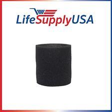 Foam Sleeve Filter fits Shop Vac 90585, 9058500, 905-85, Type R + most Shop Vacs