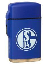 Feuerzeug  Rubber Laser blau FC SCHALKE 04 S04 NEU