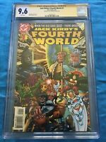 Jack Kirbys Fourth World #1 - DC - CGC SS 9.6 NM+ - Signed by Walt Simonson
