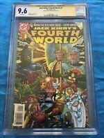Jack Kirbys Fourth World #1 - DC - CGC SS 9.6 NM+ - Signed by Walt Simonson