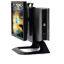 """Dell All-In-One Small Desktop USFF Core 2 Duo PC 2GB 160GB 17"""" LCD Windows 7 Pro"""