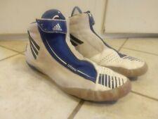Adidas Adizero wrestling shoe 12.5 blue and white