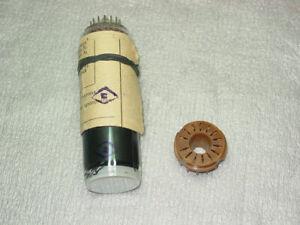 SOCKET & mini CRT oscilloscope cathode ray tube 3LO1I NOS