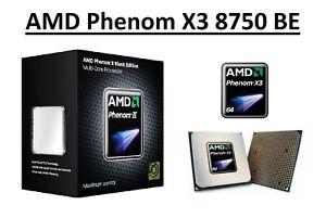 AMD Phenom X3 8750 BE Triple Core Processor 2.4 GHz, Socket AM2/AM2+, 95W CPU