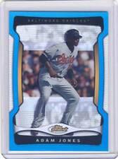 2009 Topps Finest ADAM JONES Blue Refractor #71 027/399 Orioles