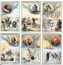 Chromo Liebig Sang. 1094 FRA Grandi Navigatori ANNO 1914/20 RIPRODUZIONE !!!