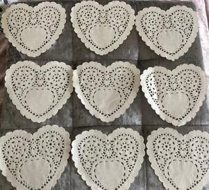 9 Paper Heart Doilies Craft