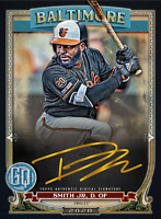 2020 Topps BUNT Dwight Smith Gypsy Queen S2 GOLD Signature ICONIC DIGITAL CARD