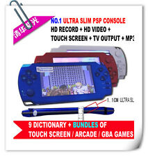 8GB handheld touchscreen game arcade GBA MP4 MP5 ULTRA SLIM not sony psp