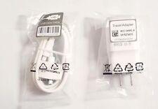 OEM GENUINE LG WALL TRAVEL 1.8 CHARGER & MICRO USB FOR E980 G4 G3 G2 V10 WHITE