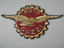MOTO GUZZI CORONA AQUILA TOPPA PATCH RICAMATA TERMODESIVA CM.17X10