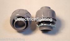 1/2 Inch Liquid Tight  Non Metallic Straight Connectors 25/PK