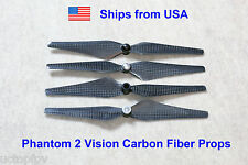2Pairs 9443 Self Locking Carbon Fiber Props for DJI Phantom 1 2 Vision+ FC40 FPV